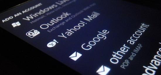 Windowsphone gmail
