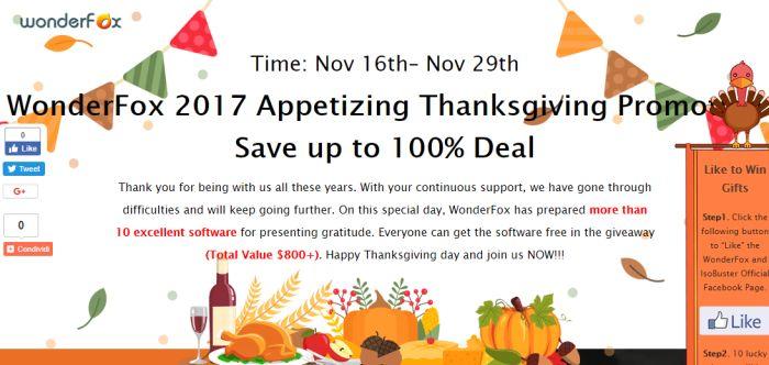 10 e oltre Software Gratuiti per questo Thanksgiving 2017