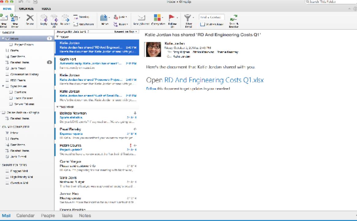 Microsoft rilascia una nuova versione di Outlook per Mac