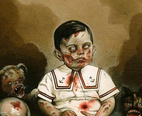 200 e oltre immagini, artworks e risorse di Zombie da paura