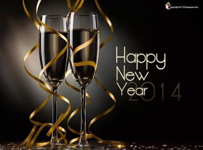 100 bellissimi sfondi dedicati al nuovo anno 2014