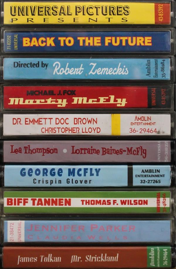 100 e oltre poster di film come cassette