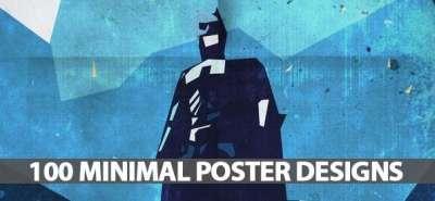 100 minimal poster designs