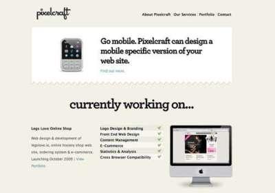 100 siti web minimalisti e semplici