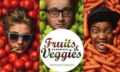 10 fotografie pubblicitarie con frutta e verdura