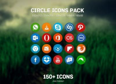 110 e oltre icone social media gratis