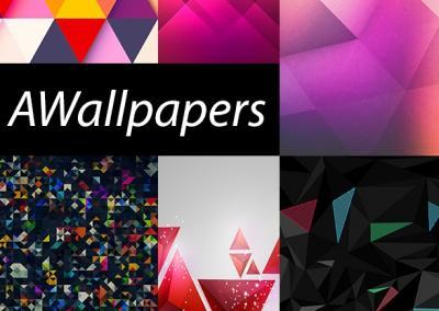 11 sfondi geometrici triangolari per smartphone e tablet