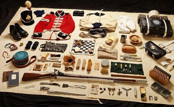 13 fotografie dell'equipaggiamento dei soldati dal 1066 al 2014