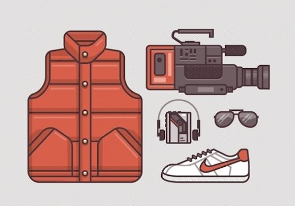 13 illustrazioni di costumi di famosi film