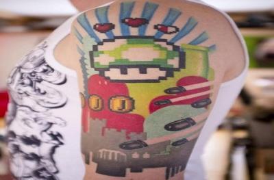 13 tatuaggi belli dedicati ai videogame