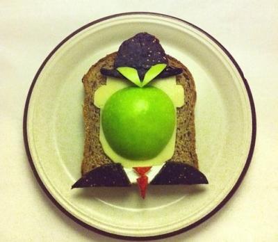 14 quadri artistici fatti con i toast