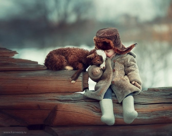 15 e oltre bellissime immagini tra bambini ed animali