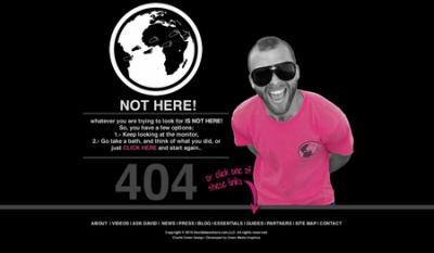 15 pagine 404 veramente creative