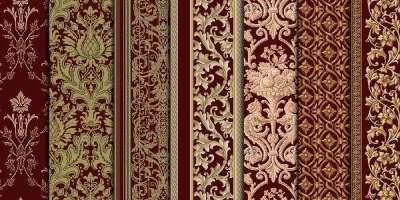 15 Pattern in stile damasco