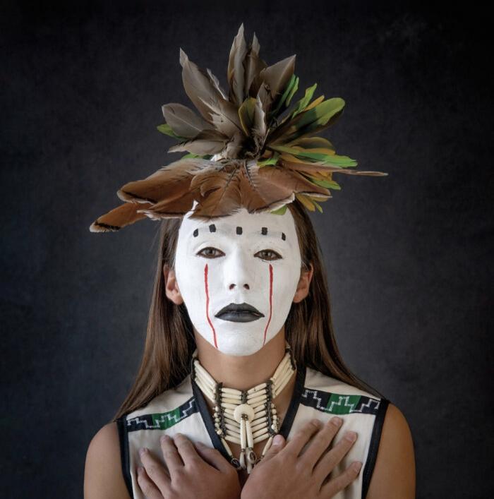 16 fotografie di ritratti di nativi americani