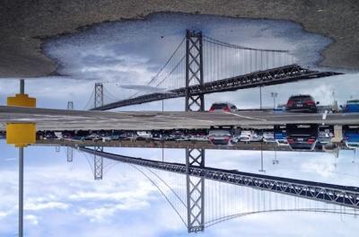 17 fotografie di riflessi su San Francisco