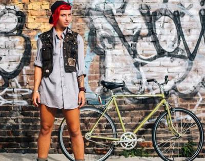19 fotografie di ciclisti in New York