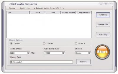 1Click Audio Converter