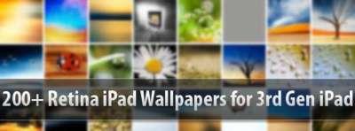 200 e oltre sfondi retina per iPad