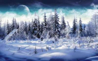 20 Beautiful Winter Wallpapers