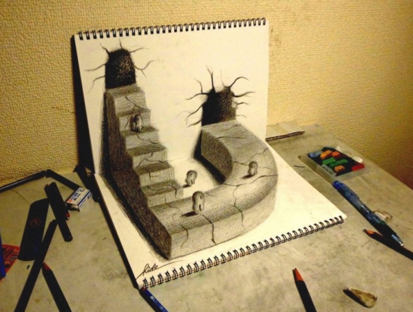 20 bellissimi lavori artistici di penna in 3D