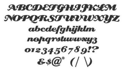 20 fonts di scrittura a mano per il design
