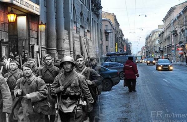 20 foto della seconda guerra mondiale all'interno di luoghi moderni