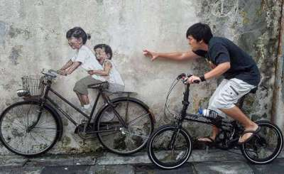 20 intelligenti esempi di street art interattivi