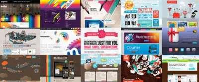 20 siti web di design colorato