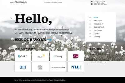 20 splendidi esempi di siti web minimalisti