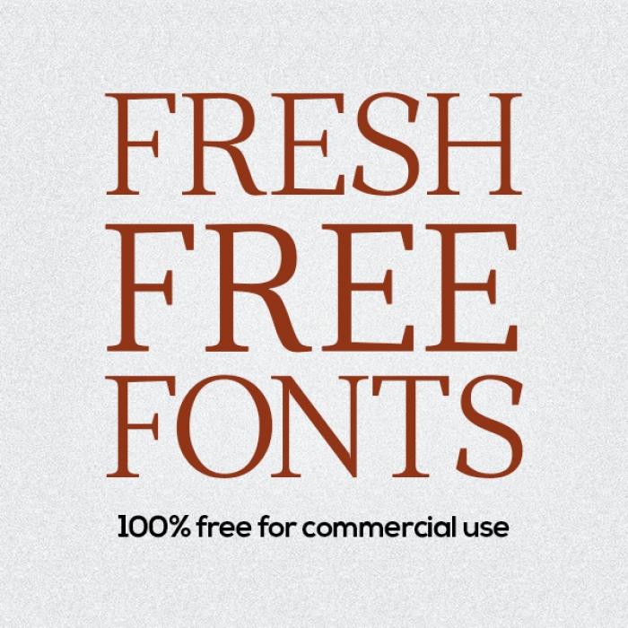 21 fonts freschi e gratuiti