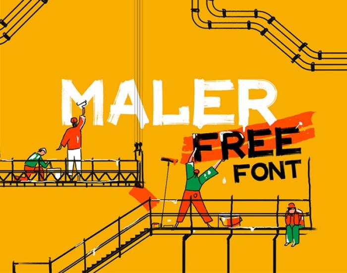 23 Nuovi Fonts Gratis per Graphic Designers