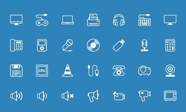 250 e oltre icone vettoriali gratis per il design