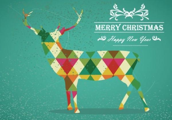 25 bellissimi biglietti d'auguri di Natale