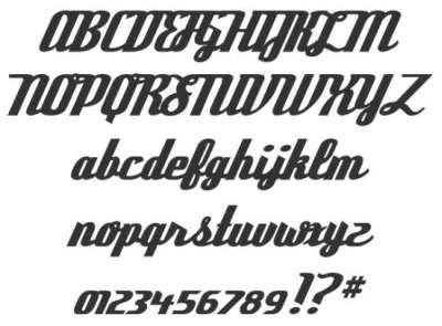 25 fonts gratis di tipo vintage e retro