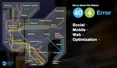 25 impressionati pagine 404