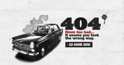 25 incredibili pagine di errore 404