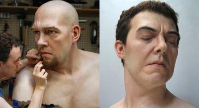 25 iper-realistiche sculture in silicone
