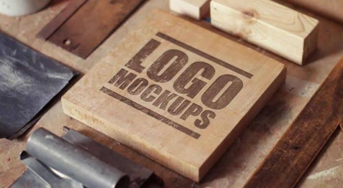 25 mockup templates di Photoshop per creare loghi