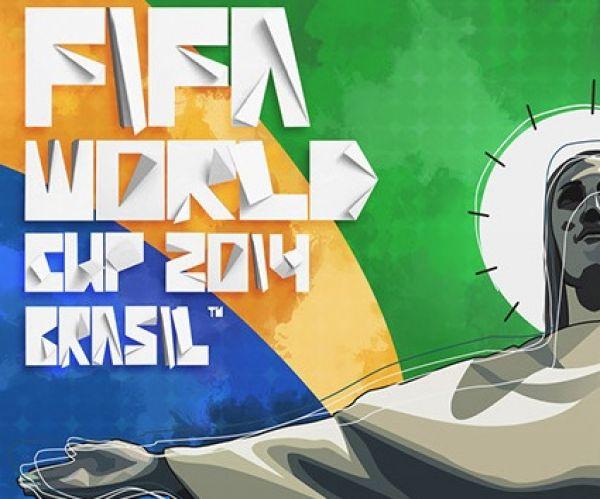 25 poster e illustrazioni dedicati alla Coppa del Mondo 2014