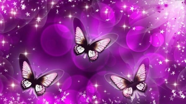25 sfondi colorati con farfalle