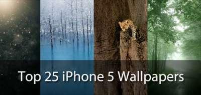 25 sfondi per iPhone 5 al top
