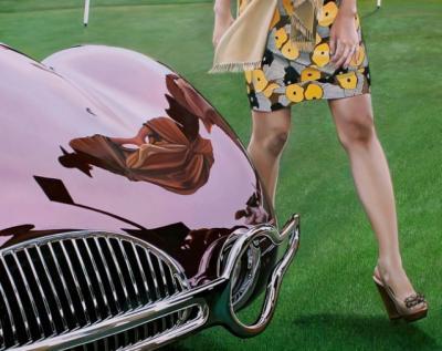 25 straordinari e iper realistici quadri ad olio di macchine