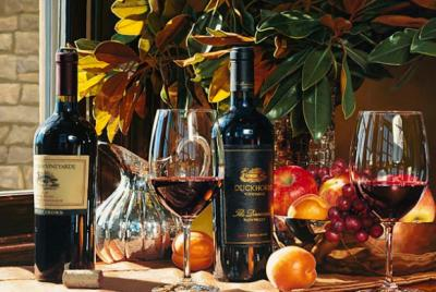 25 straordinarie opere iper-realistiche ad olio di cibo e vino
