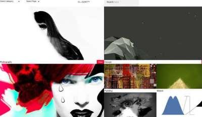 25 temi gratis di portfolio minimale