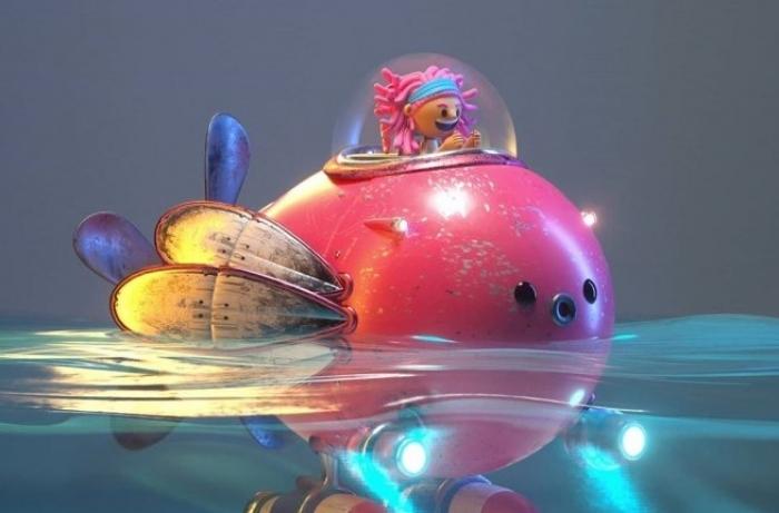 26 divertenti personaggi in 3d dall'artista Fernando Parra