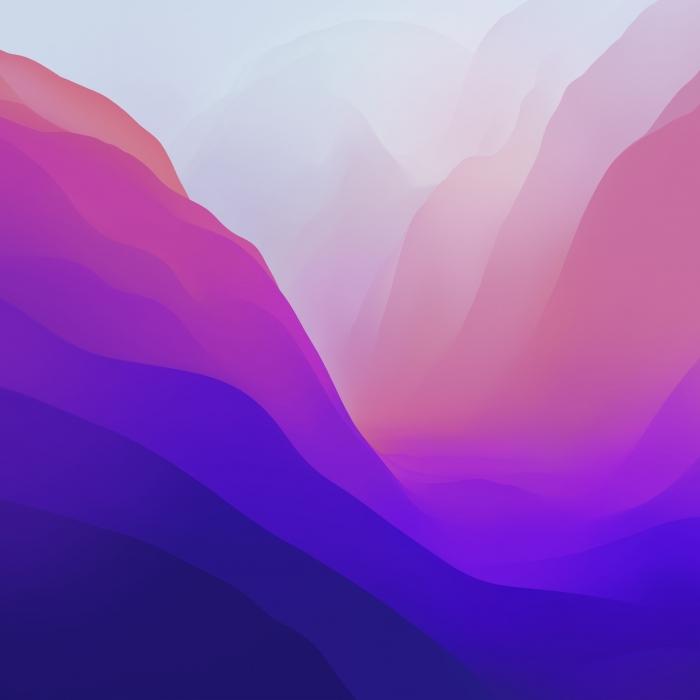 2 sfondi ufficiali di macOS Monterey in 4k