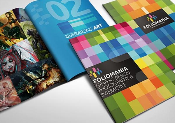 30 bellissime e creative brochure di design da ispirazione
