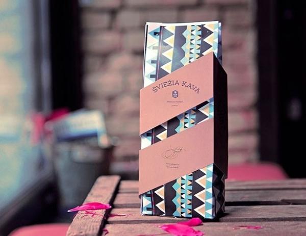 30 bellissimi design di pacchetti di caffè