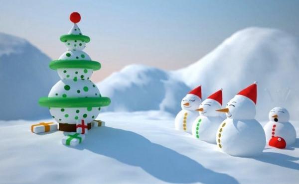 30 bellissimi sfondi dedicati al Natale ed all'inverno